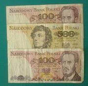 старые польские банкноты